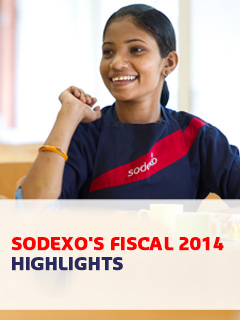 Sodexo's Fiscal 2014 Highlights